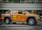 VW Amarok bate el record mundial en la autopista Panamericana 4