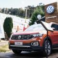 Volkswagen T-Cross en Cerro Bayo