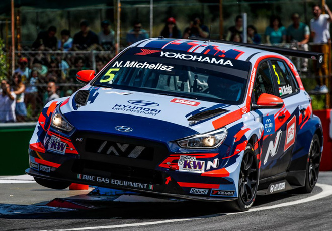 WTCR - Vila Real - Portugal 2019 - Carrera 1 - Norbert Michelisz - Hyundai i30 N TCR
