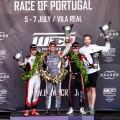 WTCR - Vila Real - Portugal 2019 - Carrera 2 - Ma Qing Hua - Mikel Azcona - Esteban Guerrieri en el Podio