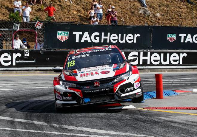 WTCR - Vila Real - Portugal 2019 - Carrera 3 - Tiago Monteiro - Honda Civic TCR