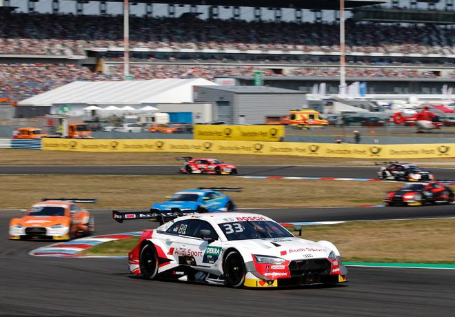 DTM - Lausitzring 2019 - Carrera 2 - Rene Rast - Audi RS 5 DTM