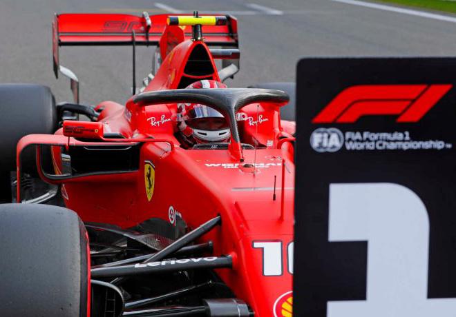 F1 - Belgica 2019 - Clasificacion - Charles Leclerc - Ferrari