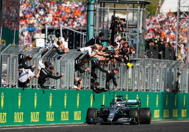 F1 - Hungria 2019 - Carrera - Lewis Hamilton - Mercedes GP