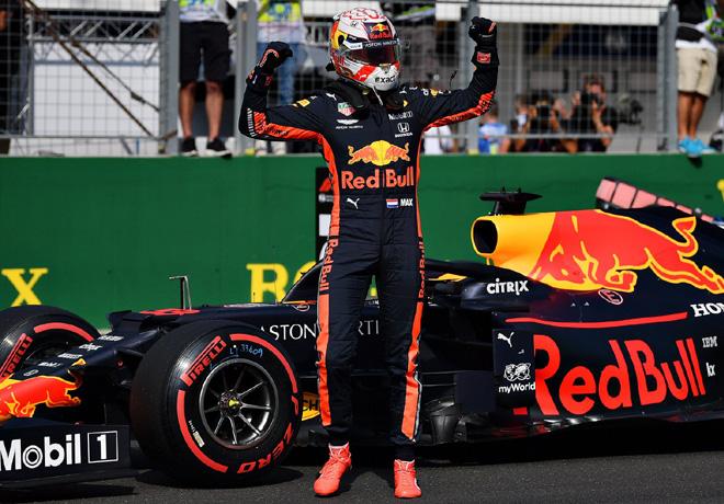 F1 - Hungria 2019 - Clasificacion - Max Verstappen - Red Bull