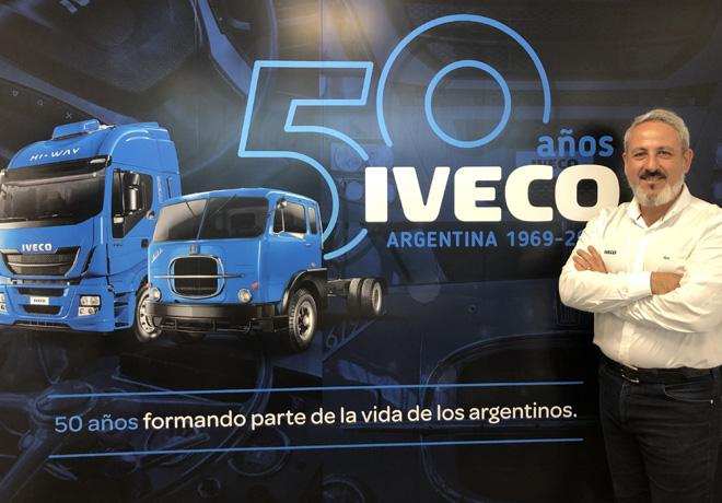 Francisco Spasaro - Director Comercial de IVECO Argentina