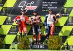 MotoGP - Brno 2019 - Andrea Dovizioso - Marc Marquez - Jack Miller en el Podio