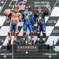 MotoGP - Silverstone 2019 - Marc Marquez - Alex Rins - Maverick Vinales en el Podio