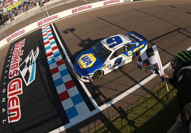 NASCAR - Watkins Glen 2019 - Chase Elliott - Chevrolet Camaro
