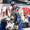 NASCAR - Watkins Glen 2019 - Chase Elliott en el Victory Lane