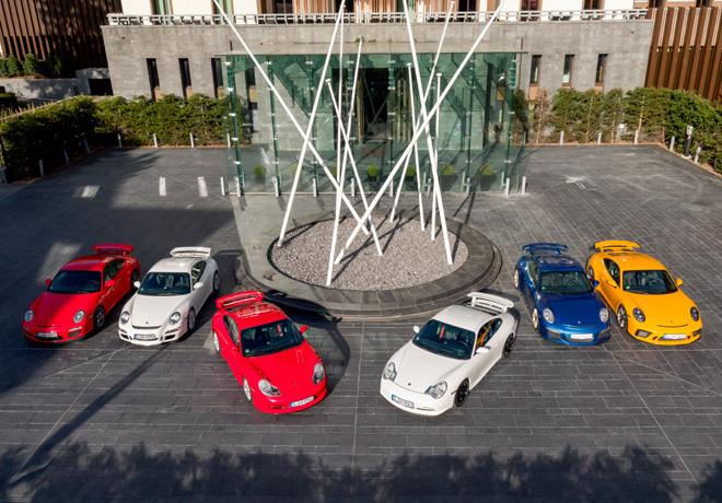 Porsche 911 GT3 cumple 20 anios - Seis generaciones