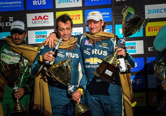 Rally Argentino - Catamarca 2019 - Final - David Nalbandian en el Podio