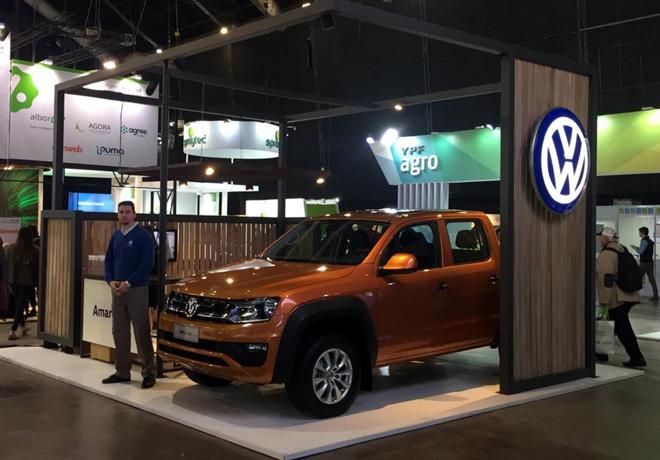 VW Amarok es el vehiculo oficial del congreso Aapresid