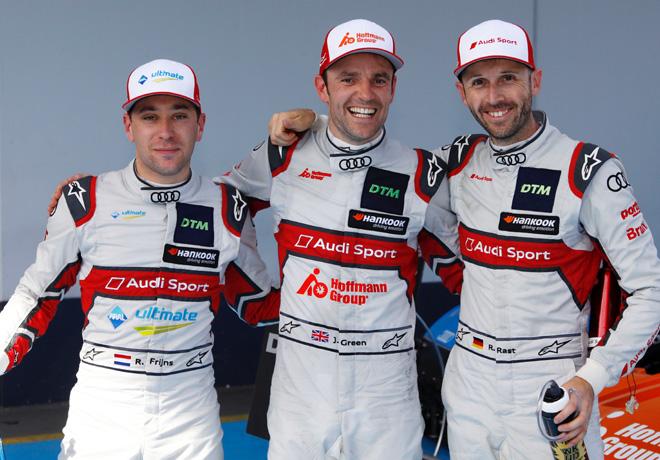 DTM en Nürburgring – Carrera 2: Victoria de Jamie Green y el campeonato para Rene Rast.