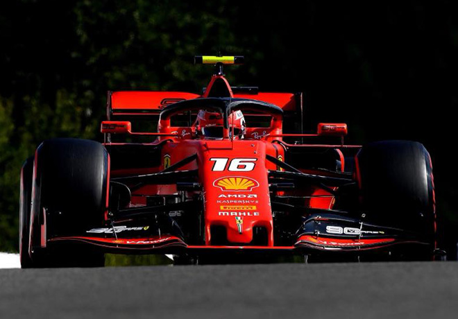 F1 - Belgica 2019 - Carrera - Charles Leclerc - Ferrari