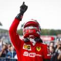 F1 - Belgica 2019 - Carrera - Charles Leclerc en el Podio