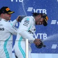 F1 - Rusia 2019 - Carrera - Valtteri Bottas y Lewis Hamilton en el Podio