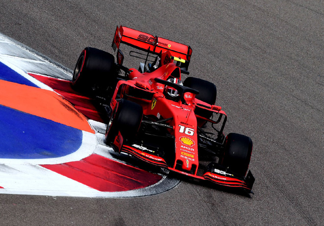F1 - Rusia 2019 - Clasificacion - Charles Leclerc - Ferrari