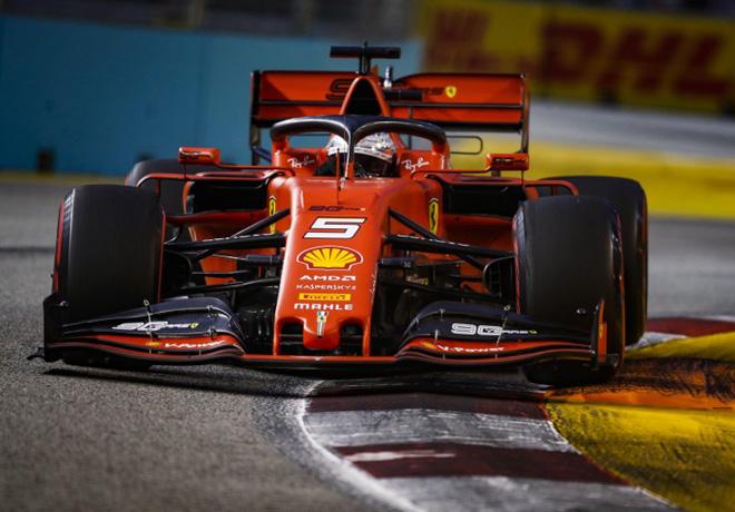 F1 - Singapur 2019 - Carrera - Sebastian Vettel - Ferrari