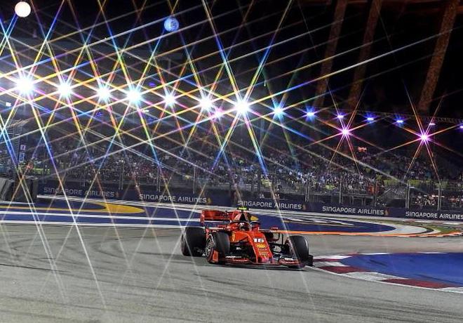 GP de Singapur de Fórmula 1 – Clasificación: Tercera pole consecutiva de Charles Leclerc.