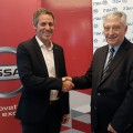 Gonzalo Ibarzabal -Nissan- y Jose Luis Roces -ITBA-
