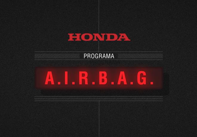 Honda Motor de Argentina - Programa AIRBAG