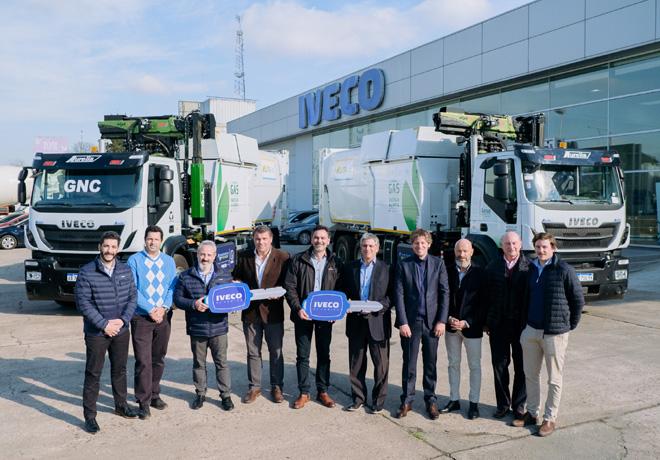 IVECO Argentina entrego los primeros camiones comerciales a GNC para servicio publico