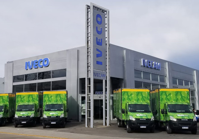 La Ciudad de Buenos Aires continua renovando su flota con vehiculos IVECO 1