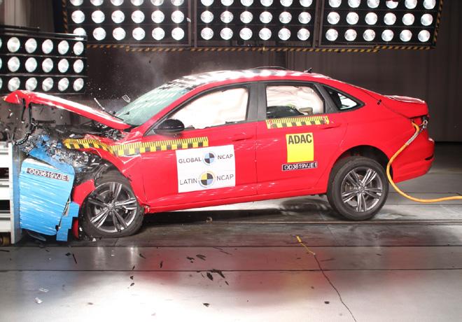 Latin NCAP - VW Jetta-Vento - con 6 Airbags