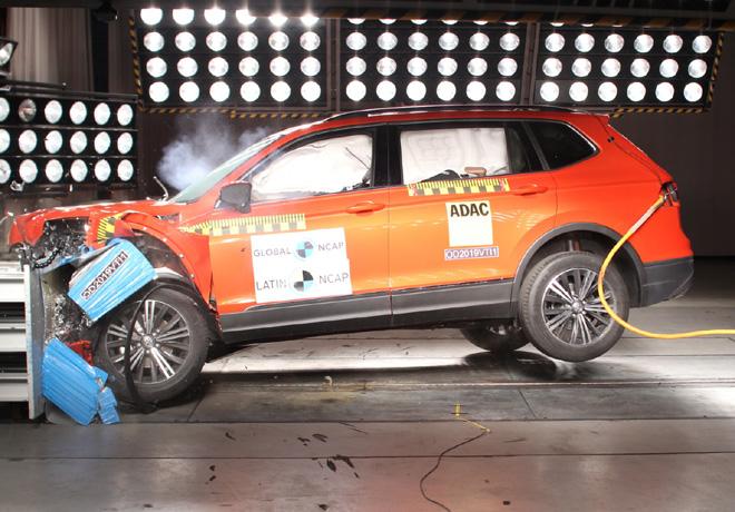 Latin NCAP - VW Tiguan - con 6 Airbags
