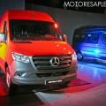 Mercedes-Benz Argentina presento la tercera generacion del utilitario Sprinter 8
