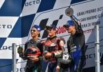 MotoGP - Misano 2018 - Fabio Quartararo - Marc Marquez - Maverick Vinales en el Podio