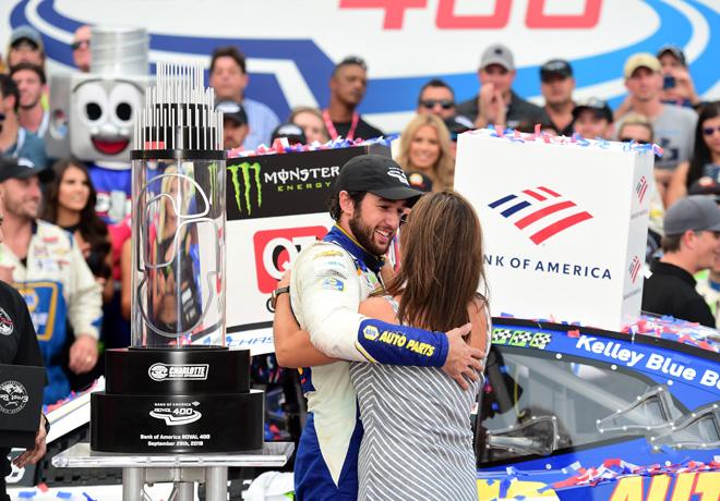NASCAR - Charlotte - Roval 2019 - Chase Elliott en el Victory Lane