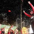NASCAR - Darlington 2019 - Erik Jones en el Victory Lane