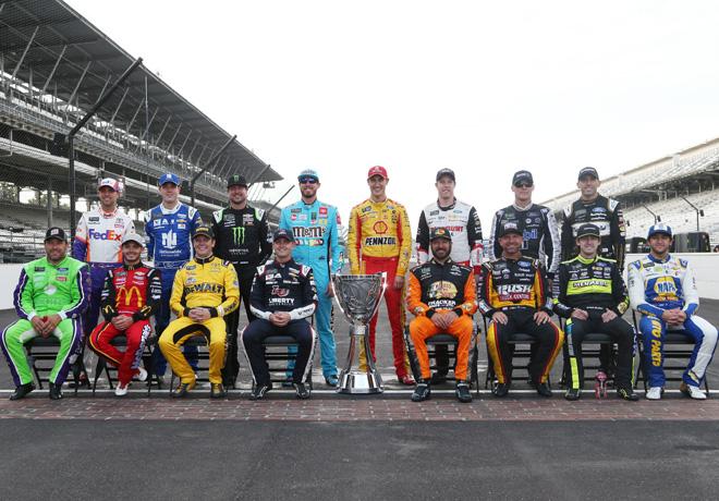 NASCAR - Indianapolis 2019 - Pilotos que integran la primera fase de los Playoffs