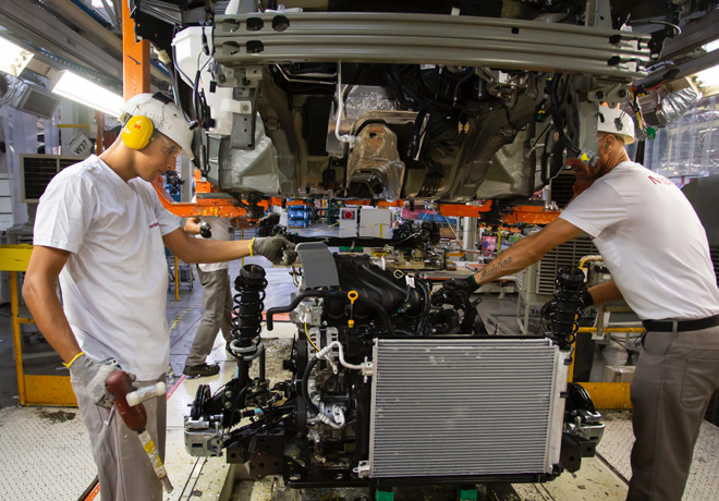 Nissan innova con la impresion 3D en su Complejo Industrial Resende