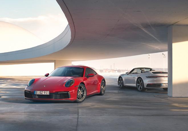 Porsche 911 Carrera 4 Coupe y 911 Carrera 4 Cabriolet