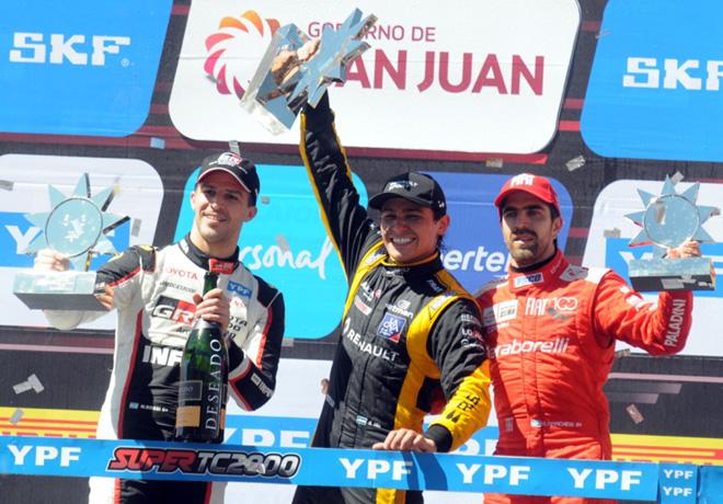 STC2000 - San Juan 2019 - Carrera - Matias Rossi - Matias Milla - Matias Munoz Marchesi en el Podio