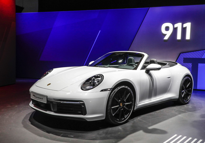 Salon de Frankfut 2019 - Porsche 911 Carrera 4 Cabriolet
