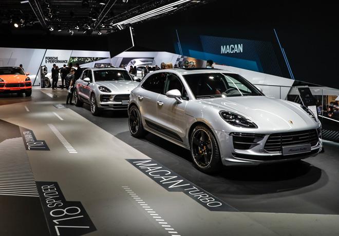 Salon de Frankfut 2019 - Porsche Macan Turbo