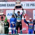 TC Pista - Rafaela II 2019 - Diego Ciantini - Ayrton Londero - Esteban Cistola en el Podio