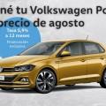 Tene tu VW Polo a precio de Agosto de 2019