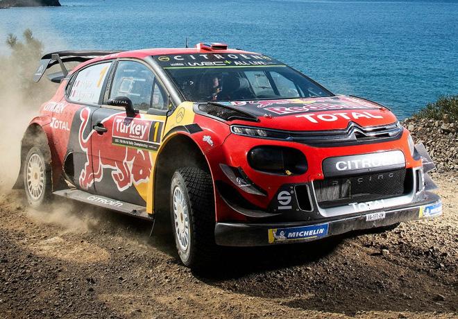 WRC - Turquia 2019 - Dia 2 - Sebastien Ogier - Citroen C3 WRC
