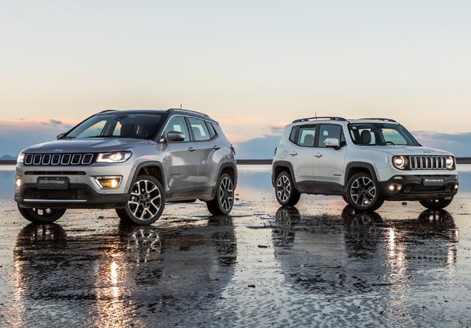 jeep Compass y Renegade