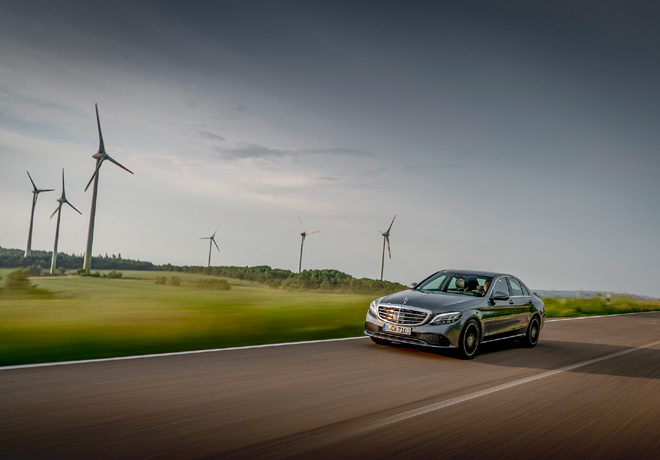 50 porciento del consumo de energia electrica de Mercedes-Benz Argentina proviene de fuentes renovables