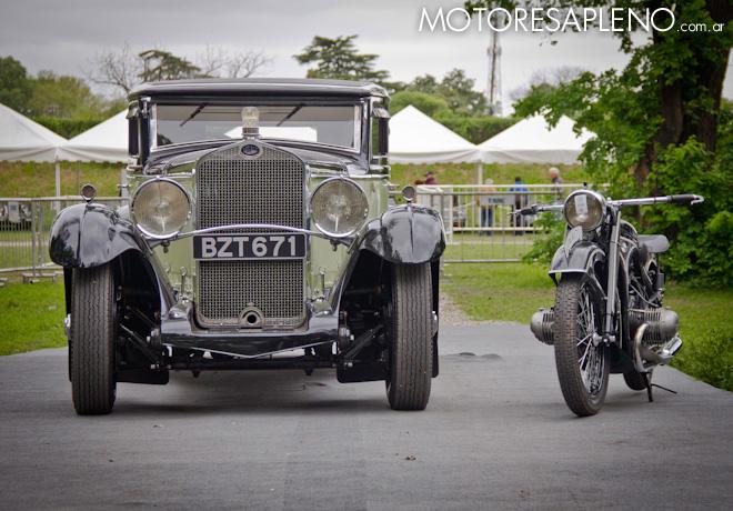 Autoclasica 2018 - Best of Show - Delage D8 de 1932 y BMW R17 de 1936 1