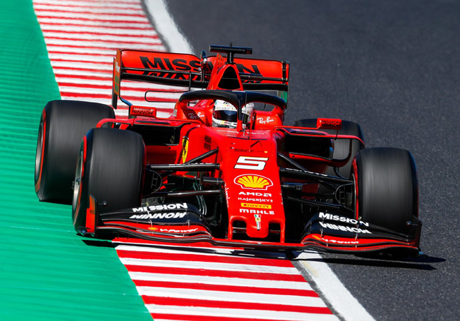 F1 - Japon 2019 - Clasificacion - Sebastian Vettel - Ferrari