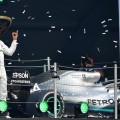 F1 - Mexico 2019 - Carrera - Lewis Hamilton en el Podio