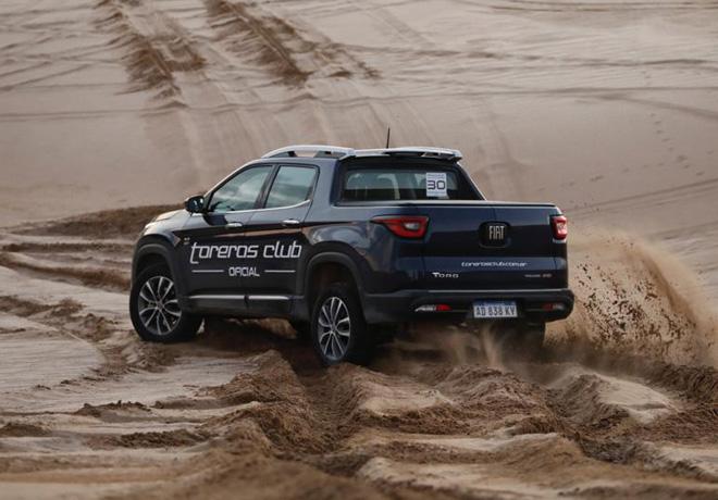 Fiat acompano al Toreros Club en su travesia solidaria en el partido de Pinamar 2