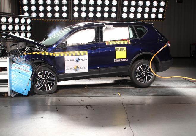 Latin NCAP - Seat Tarraco - con 7 Airbags